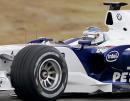 图文:宝马索伯F1.07 西班牙巴伦西亚试车(2)