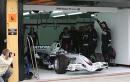 图文:宝马索伯F1.07 西班牙巴伦西亚试车(5)