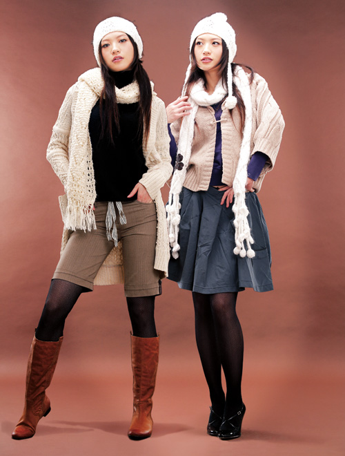 巧妙穿法:帽子围巾手套 冬季搭配装备(组图)