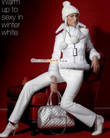 无声白色 新年最时尚