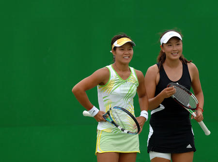 澳网-李娜/彭帅一天双胜晋级次轮 李婷女双止步