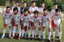 图文:国奥0-3摩纳哥青年队 国奥队首发阵容