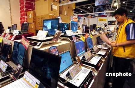 中国电子产品出口量已超德国 升至世界排名前列