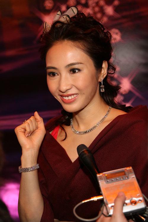 黎姿香港接受搜狐专访:漂亮对我来说不是局限