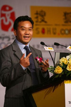 陈陆明:报名志愿者愿和搜狐一起为08做贡献
