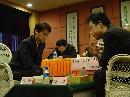 图文:第三届倡棋杯决赛第一局 孔杰对阵古力