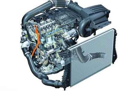 配1.8TFSI发动机 斯柯达明锐首辆车下线