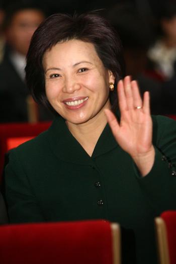 图文:京外赛会志愿者招募启动仪式 王惠参加活动