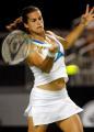 图文:澳网女单第三轮莫雷斯莫晋级 比赛中回球