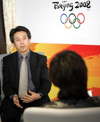 图文:奥运京外志愿者招募访谈 李世新畅所欲言