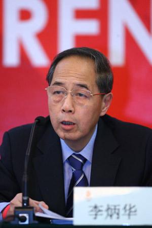 李炳华介绍北京2008年奥运志愿者工作总体进展