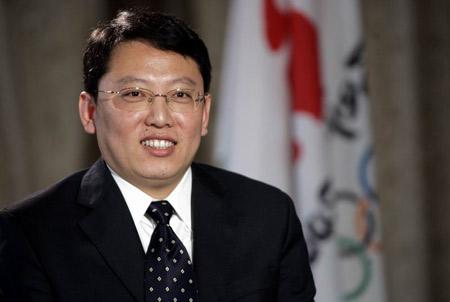 图文:奥运京外志愿者招募访谈 姜泽廷接受采访