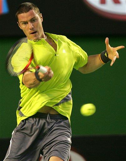 澳网-巅峰之战萨芬告负 罗迪克3-1获胜挺进16强