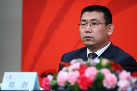 图文:京外志愿者招募启动仪式 刘剑答记者问