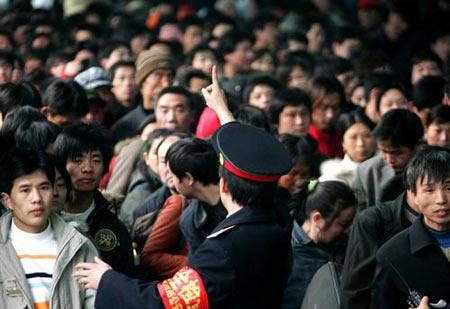 北京开出今年春运首趟临客列车