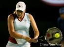 图文:澳网第3轮 兹沃娜列娃2-1胜伊万诺维奇