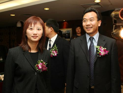图文:搜狐中国之队合作发布会 搜狐两位领导