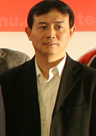图文:搜狐中国之队合作发布会 总局领导曹康