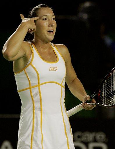 图文:07澳网第七比赛日 扬科维奇指责裁判
