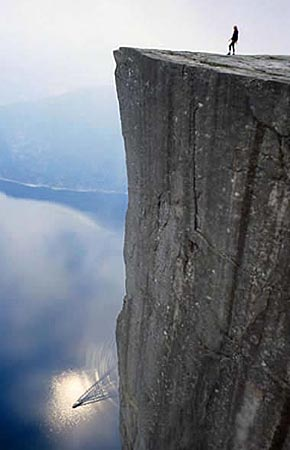 挪威峡湾 极限攀岩的天堂(组图)