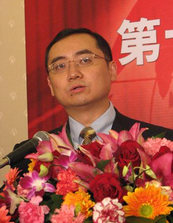 图文:CNNIC主任毛伟为发布会致辞