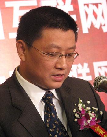 图文:信产部电信管理局发展规划处处长王安平