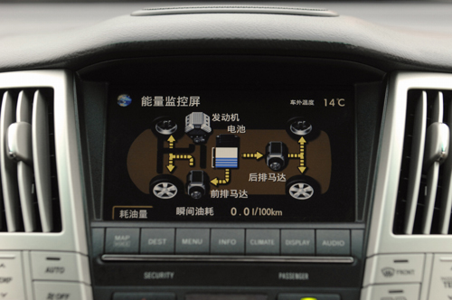 LEXUS雷克萨斯RX400h中国上市 售价81万元