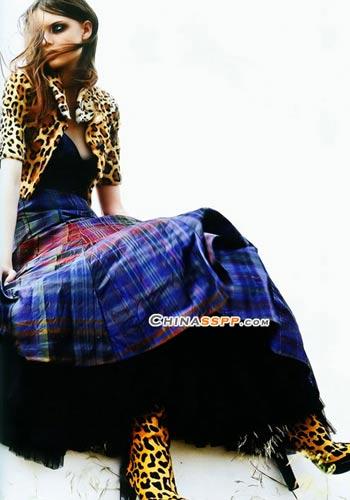 浪漫唯美 苏格兰服饰