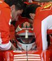 图文:法拉利新赛季试车 莱科宁测试赛车