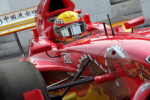 专访董荷斌:只可能为中国而战 明年希望进入F1