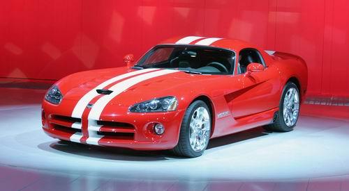道奇发布: 600马力2008款蝰蛇SRT10