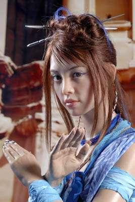 蔡依林蜡像进驻上海 水晶指甲最让雕塑师脑筋