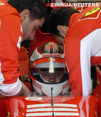 07赛季F1大奖赛将开赛 法拉利磨刀(图)