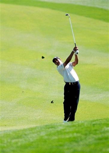 图文:卡塔尔高尔夫大师赛开幕 印度新秀参赛