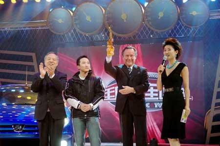 标致206加冕2006CCTV中国年度经济型轿车