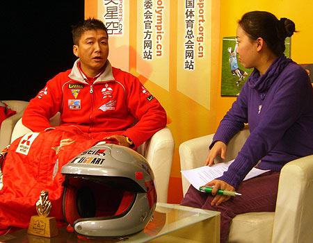 刘斌满意自己达喀尔拉力赛表现:有信心取得突破