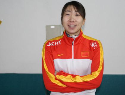 王霏偷师刘翔方框式训练法 亚冬最想三千米夺金