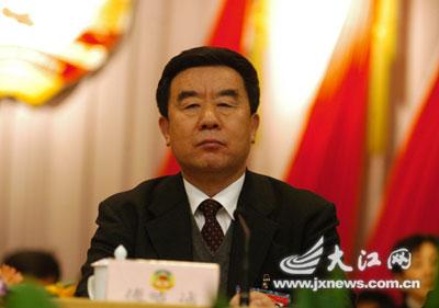 傅克诚当选江西省政协主席 朱张才等4人为副主席