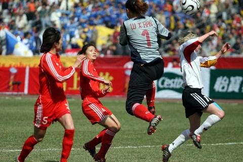 四国赛:中国0-0德国暂列榜首 韩文霞成最佳