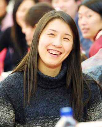 搜狐体育讯 1月27日,前女排国手孙玥(   孙玥博客   )飞赴高清图片
