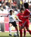 图文:女足四国赛中国平德国 希莉亚带球进攻