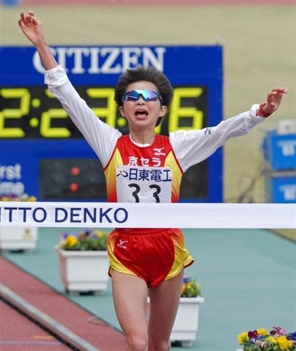 大阪马拉松赛日本选手获世锦赛门票 目标08奥运