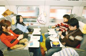 体验沪宁线高速列车:无愧国内最先进(组图)