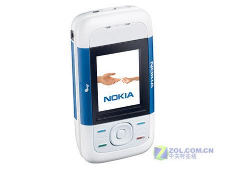 图为:诺基亚5200手机