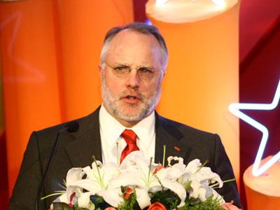 图:杜邦公司全球副总裁、杜邦大中国区总裁苗思凯