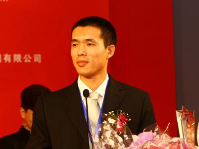 图:长虹获奖代表百秒演讲