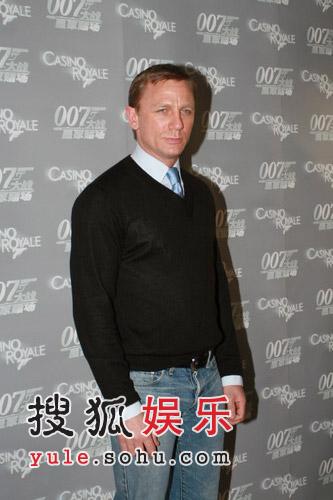 """独家:新007丹尼尔-克雷格""""演裸戏不会拒绝"""""""