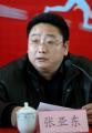 图文:罗雪娟宣布退役 张亚东发布会上发言