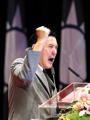 """2006台湾因""""贪腐""""与""""反贪腐""""出现重大动荡"""