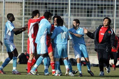 国奥0-0再平马赛